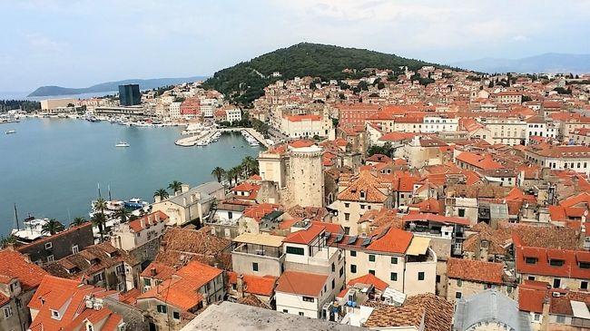 ■ クロアチアの旅(6)アドリア海沿岸最大の港町「 スプリト 」