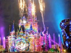 35周年の夏ディズニー (2) 話題の新ナイトエンターテイメント「Celebrate! Tokyo Disneyland」を大迫力の最前列で体験!