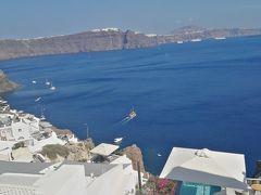 7/23 ヨーロッパ周遊30日 サントリーニ島滞在 1日目