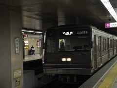 2018年8月Osaka Metro全線乗りつぶしの旅3(谷町線)