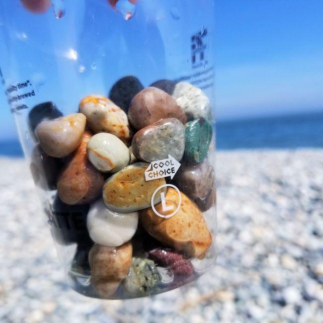 富山県には天然のヒスイ原石がひろえる海岸があります。<br /><br />宝もの探しを楽しむ1泊2日。<br /><br />思いがけず新月の翌日で、天の川も観ることができました。