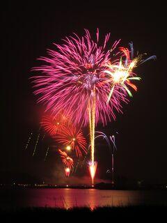 佐倉市散策(48)・・真夏の夜の夢、佐倉花火フェスタを訪ねます。