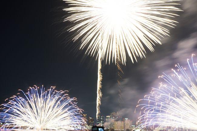 大阪で行われた「なにわ淀川花火大会」に行ってきました~!<br />2日目は甲子園で高校野球を少し見たり甲子園歴史館に行ったり<br />正月の福男選びでおなじみの西宮神社に行きました。<br /><br />宿泊は2度目のコートヤードバイマリオット新大阪です!