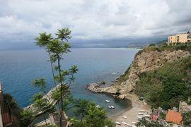美しき南イタリア旅行♪ Vol.62(第3日)☆Pizzo:美しき海の町「ピッツォ」旧市街の展望台から眺めて♪