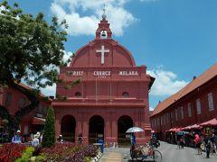 ザビエル所縁の地、植民地時代の紅いマラッカ☆マリーナベイの夜景を望むフードコート発見! ジャカルタ・シンガポール2018の旅6-2