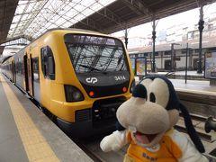グーちゃん、ポルトガルへ行く!(ポルト/JR?サン・ベント駅へ!編)