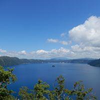 親子3人、レンタカーで950km、北海道の名所巡りをしてきました。 初日、羽田空港から女満別空港、美幌峠、屈斜路湖、摩周湖、硫黄山、知床五湖、知床第一ホテルまで