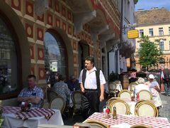 ☆春のプラハでモルダウを~♪.:* ハンガリー・スロバキア・チェコ周遊10日間☆vol.7 王宮の丘のカロチャ刺繍と歴史のある建物のレストラン・アラニー ホードから~聖イシュトヴァーン大聖堂へ☆