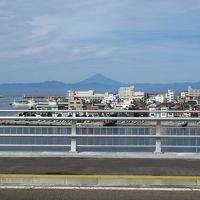 京急三浦半島1DAYフリー切符の旅(2)富士山のよく見える城ケ島大橋を歩いて渡る