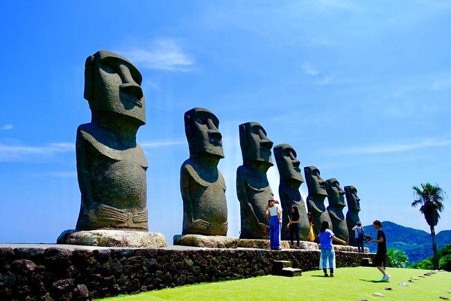 ある日。<br /><br />イースター島を調べていたら、<br />何故か宮崎がやたら出て来まして。<br /><br />「何で?」<br /><br />って思ったら、<br />見てた写真のモアイが宮崎のもので。<br /><br />「何だこりゃ、気になるw」<br /><br />って事で・・・<br /><br /><br />こんにちは、J太郎です。<br />久々の旅行記となります。<br /><br />最後の旅行記から旅行は続けているのですが、<br />旅行記書くテンションが全然上がらず・・・<br /><br />だらけていたら、<br />夏も終わりな時期になってしまいました(笑)