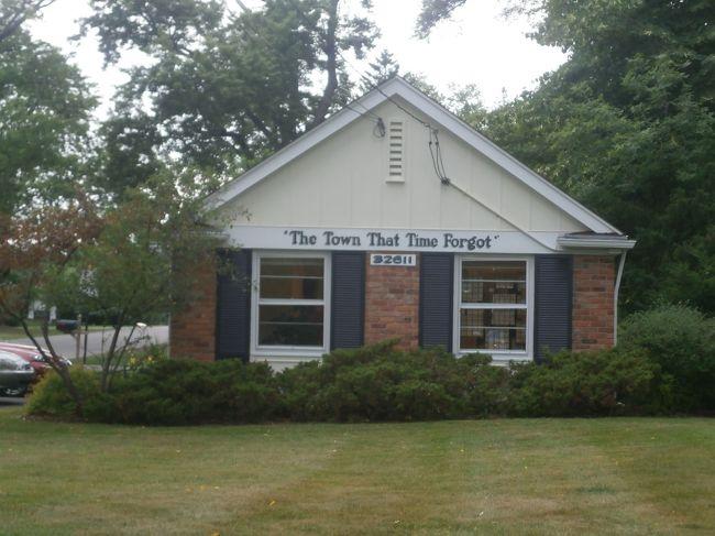 オ-クランドで避暑 ⑪ 小さな村の食堂