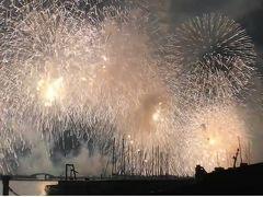 2018年8月 琵琶湖大花火大会を今回も最前で見たよ!クライマックス動画