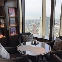 リッツカールトン東京 クラブ・タワー・デラックスルーム�ラウンジ朝食とチェックアウトまで