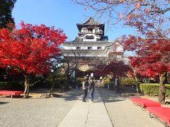 愛知・伊勢志摩の旅(4)紅葉の美しかった犬山城