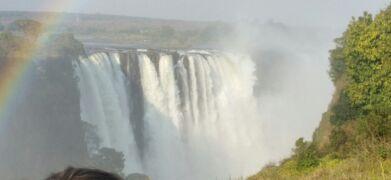 10日間の南部アフリカ4か国周遊感動体験 4日目 私営動物保護区・ビクトリアの滝