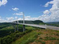 フランス・ドライブ 3,236km - #9 : ミヨー橋 タルン川に架かる美しい橋
