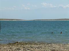 意外と綺麗 アルマトイ市民の保養地 カプチガイ貯水池