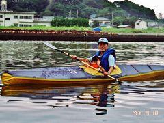 カヌーで三浦の海を巡る