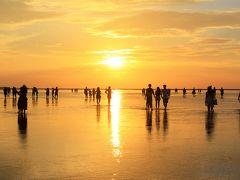 この次は、あなたと一緒に行き台湾.☆*2018 夏休み* ここが、台湾のウユニ塩湖「高美湿地」です。
