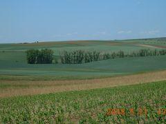春のチェコとウィーンを巡る(チェコ編) 28 13日目① モラヴィアの大草原をサイクリング