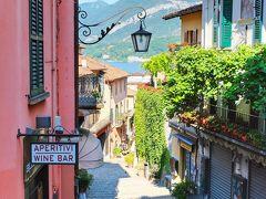 北イタリア湖水地方を巡る旅  <6> コモ湖の真珠と呼ばれる『ベラージオ』 へ