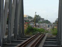 カンボジアの鉄道北線を見るために、タイとの国境の都市、ポイペトを訪れました。