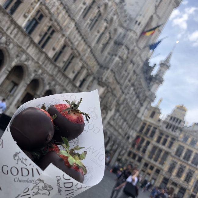 ヨーロッパ一人旅<br />ロンドンは3回目、初めましてのエジンバラ<br />またまた初めてのブリュッセル、4回目のパリ<br />毎日盛りだくさんな旅行記。<br />どなたかの参考になると幸いです。<br />どうぞご覧ください^^<br /><br />旅のはじまりはこちら<br />https://4travel.jp/travelogue/11345091<br /><br /><br />〇Ⅰ 8.07 tue  CTSーHKG-LHR<br /><br />〇Ⅱ 8.08 wed London <br /><br />〇Ⅲ 8.09 thu  London → Edinburgh <br /><br />〇Ⅳ  8.10 fri  Edinburgh → London <br /><br />●Ⅴ  8.11 sat  London → Brussel  ←今ここ<br /><br />〇Ⅶ  8.13 mon  Paris<br /><br />〇Ⅷ  8.14 Tue  Paris<br /><br />〇Ⅸ  8.15 wed  Paris<br /><br />◯Ⅹ  8.16 wed CDG-HKGーCTS