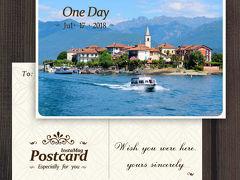 北イタリア湖水地方を巡る旅  <7> マッジョーレ湖畔リゾート『ストレーザ』&ボッロメオ諸島へ