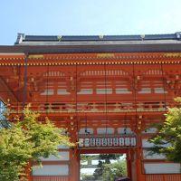 祇園祭の八坂神社参拝