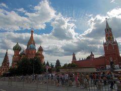 2018 夏 ロシア&バルト三国の旅② ガチ駆け足でのモスクワ観光の巻