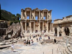 グランドホテルテミゼルに宿泊してローマ帝国の古代遺跡エフェス訪問