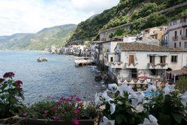 美しき南イタリア旅行♪ Vol.96(第4日)☆Scilla:「シッラ」の素敵なホテル「Il Principe di Scilla」スイートルームから素晴らしいパノラマ♪