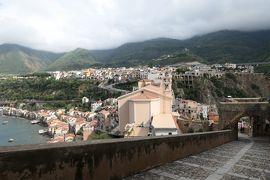 美しき南イタリア旅行♪ Vol.103(第4日)☆Scilla:美しき古城「シッラ城」(ルッフォ城)から旧市街へ♪