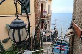 美しき南イタリア旅行♪ Vol.106(第4日)☆Scilla:イタリア美しき村「シッラ」旧市街の海の風景♪