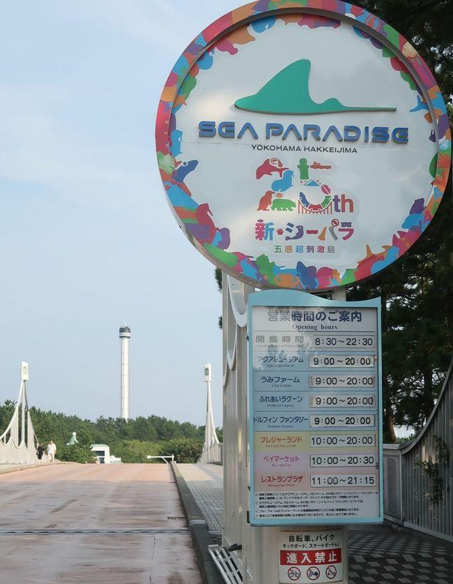 横浜・八景島シーパラダイスの「アクアミュージアム」が、2018年7月12日(木)に大規模リニューアルをしてオープン!<br /> 今年5月に開業25周年を迎えた、日本最大級の水族館「アクアミュージアム」に、11か所のLABOが新登場!「アクアミュージアム ~五感体感LABO~」として、より魅力的な空間に生まれ変わりました。<br />夏休みにピッタリな横浜・八景島シーパラダイスで、最高の夏の思い出を作ってくださいね♪<br /><br />11か所のLABOが新登場!「アクアミュージアム ~五感体感LABO~」<br />LABO1「はじまりの海」<br />LABO1では、新しいコンセプトを表現する館内へのプロローグ。幅約10メートルの水槽群には、カクレクマノミやキイロハギといった色鮮やかな魚たちやチンアナゴがお出迎え。そこはまるで、万華鏡のように色彩豊かな海の世界が広がります。<br />LABO2 「海の宝石シェルリウム」<br />「海の宝石シェルリウム」には、飼育展示数日本一を誇る35種を超えるウミウシが展示されています。<br />https://www.jalan.net/news/article/263566/ より引用<br /><br />横浜・八景島シーパラダイスは、神奈川県横浜市金沢区八景島にある海の動物のテーマパーク。 <br />横浜市が人工島である八景島を造成し、一部を株式会社横浜八景島に貸し付けて、1993年5月8日、営業を開始する。 八景島の総面積は239,776.68 m&amp;sup2;(約24 ha)であり、内、株式会社横浜八景島への貸し付け面積は76,385.68 m&amp;sup2;である。八景島そのものは横浜市が管理する公園のため、入島は無料である。一方で、シーパラダイスを運営する株式会社横浜八景島は西武グループの企業である。そのため施設への入館やアトラクション利用時に料金が発生する。 <br /><br />水族館本館であるアクアミュージアム、イルカの展示を中心とした別館であるドルフィンファンタジー、展示されている動物を間近で観察することを特徴とする展示エリアであるふれあいラグーン、乗り物施設であるプレジャーランドなどから成る。 <br />2007年に「ふれあいラグーン」が開業すると、既に開設していた「アクアミュージアム」「ドルフィンファンタジー」と併せて「アクアリゾーツ」という名称になった。 <br />アクアミュージアム<br />ピラミッドのような外観の大規模水族館である。フロアは5階まであり、1、3、4階は展示、5階はアクアシアター、2階は一般立ち入り禁止となっている。延床面積 18,000m&amp;sup2;、総水量 12,000t (野外水槽を含む) <br />アクアスタジアム<br /> 「生態ショープール」 (野外水槽、水量3,503t)<br />海の映像館・アクアシアター 720インチデジタルハイビジョンシアター<br />ドルフィンファンタジー<br />2004年7月16日にオープンしたイルカの展示を中心とした水族館。トンネル状の水槽と円筒型の水槽で構成される。 <br />「バンドウイルカ・カマイルカ水槽」 (水量742t) <br />ふれあいラグーン<br />2007年7月27日にオープンした。展示されている鯨類を間近で観察できるように水槽の縁が低く設計されている。  総水量3,700トン コンセプトは「Open Aquarium」<br />(フリー百科事典『ウィキペディア(Wikipedia)』より引用)<br /><br />八景島シーパラダイス については・・<br />http://www.seaparadise.co.jp/<br />