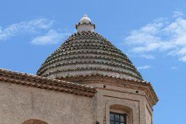 美しき南イタリア旅行♪ Vol.120(第5日)☆Gerace:イタリア美しき村「ジェラーチェ」可愛らしいクーポラの教会♪