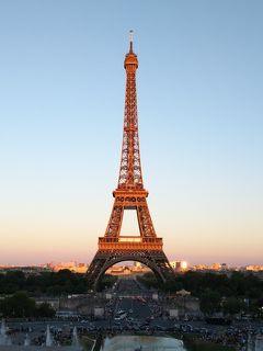 2018夏 フランス・ドイツ周遊 パリ2日目PM③ 暑くて長い午後 シャンゼリゼ通りからエッフェル塔へ