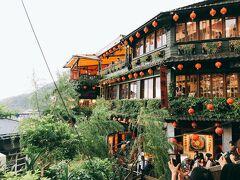 夫婦でのんびり初めての台湾 ,夏 1日目 羽田~台北(松山)~十分でランタン揚げ・九分散策