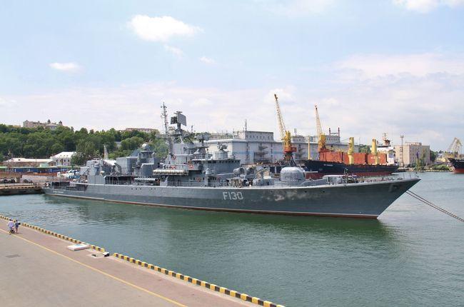 130. 夏休みウクライナ Day1 オデッサの町並み&ウクライナ海軍唯一のフリゲート