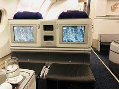 中国国際航空ビジネスクラスで行くアテネ[2018年8月9月ギリシャ1]