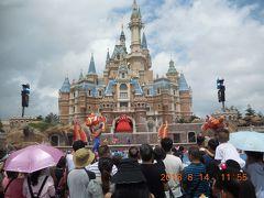 2018年夏休み 中国上海観光&上海ディズニー6泊7日(3日目:上海ディズニー初日)