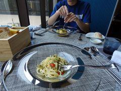 03.甥っ子と温泉に入る2泊 エクシブ湯河原離宮 イタリア料理 マレッタの昼食