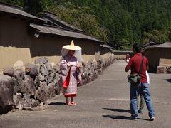 ダブル台風と一緒に、長浜・福井・能登で車中泊(4/17)朝倉市の一乗谷、そこは栄華と滅亡を想像させる谷間だった