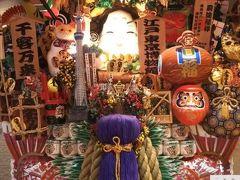 3回目の夫婦旅・東京 江戸東京博物館
