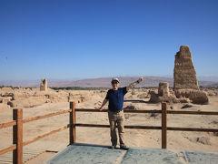 シルクロード新疆ウイグルへの旅・・・トルファンの高昌故城