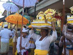 バリ島の大切な宗教儀礼、オダランに参加!