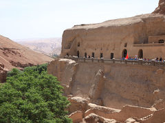 シルクロード新疆ウイグルへの旅・・・オアシス吐峪溝とベゼクリク千仏洞