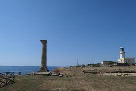 美しき南イタリア旅行♪ Vol.157(第6日)☆Capo Colonna:古代ギリシャ遺跡の岬「カポコロンナ」孤高の神殿柱は語りかける♪
