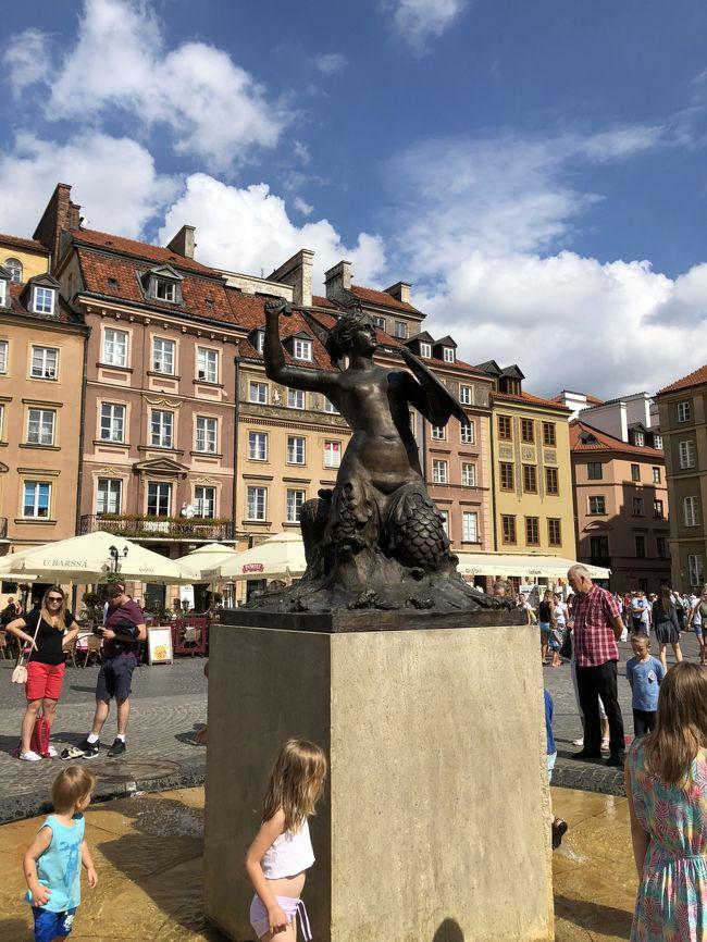 2018年8月 ラトヴィア・リトアニア・ポーランドに行って来ました。Part.8 ポーランド④ワルシャワ~帰国
