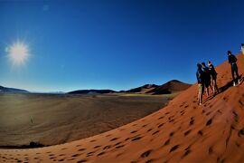 褐色の大地をゆく、 10 茶色い砂山を登る